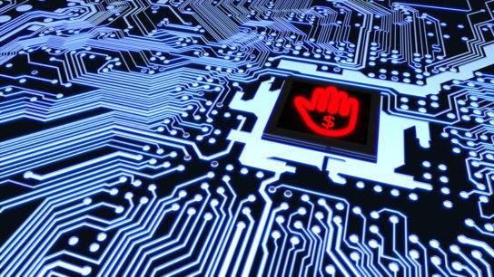 ransomware circuit board