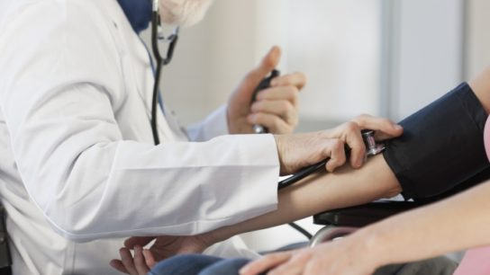 Clinicians should aim for more intensive hypertension control in their patients.