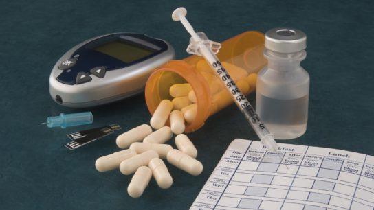 diabetes, syringe, medication