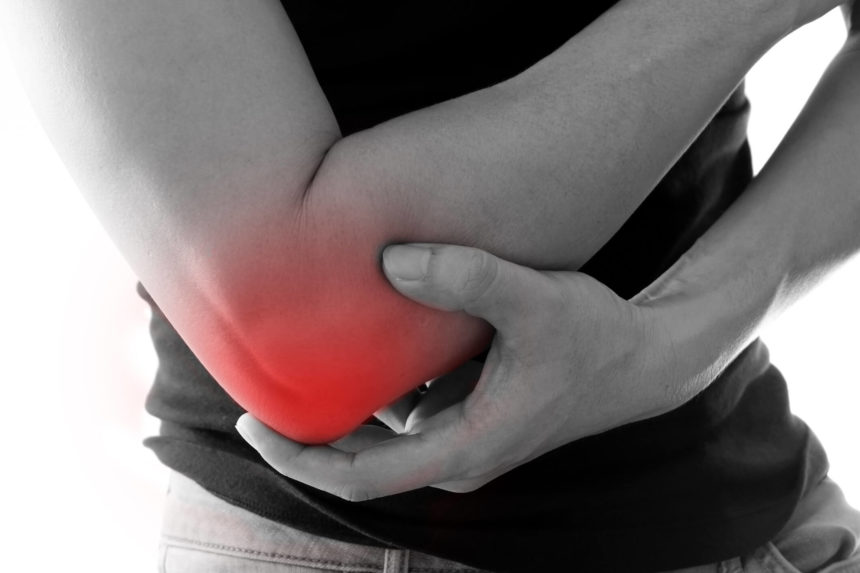 right elbow pain