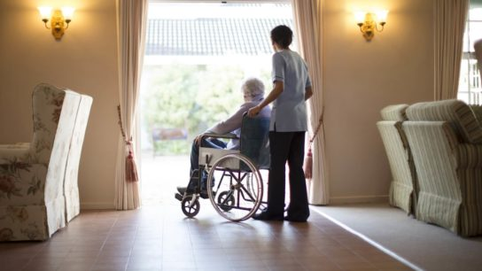 resident at long-term care facility